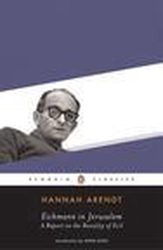 Boek cover Eichmann in Jerusalem van Hannah Arendt (Onbekend)
