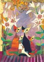 Puzzel Lilies,Wachtmeister 1000 Heye 29819