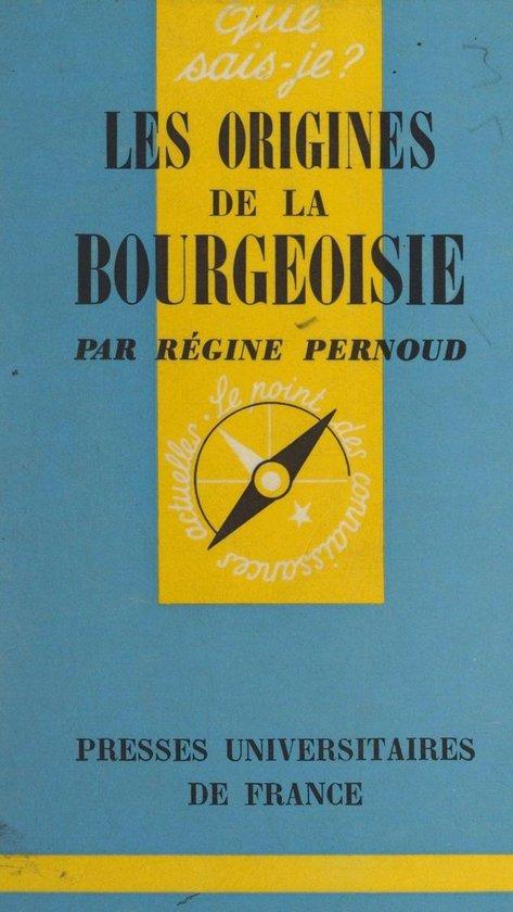 Les origines de la bourgeoisie