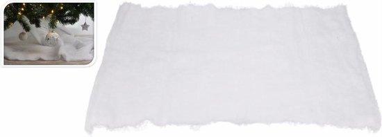 Sneeuwdeken / sneeuwtapijt 100 x 100 cm - vierkant - sneeuwkleedjes