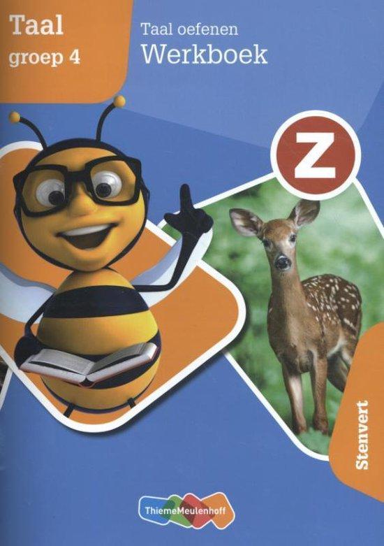 Z-Taal Taal oefenen groep 4 Werkboek - Paul Bemelen pdf epub
