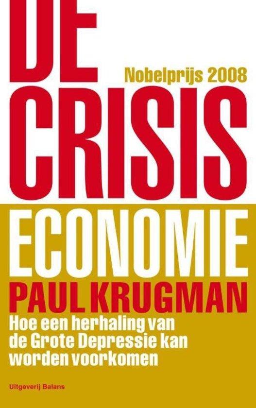 De crisiseconomie - Paul Krugman pdf epub