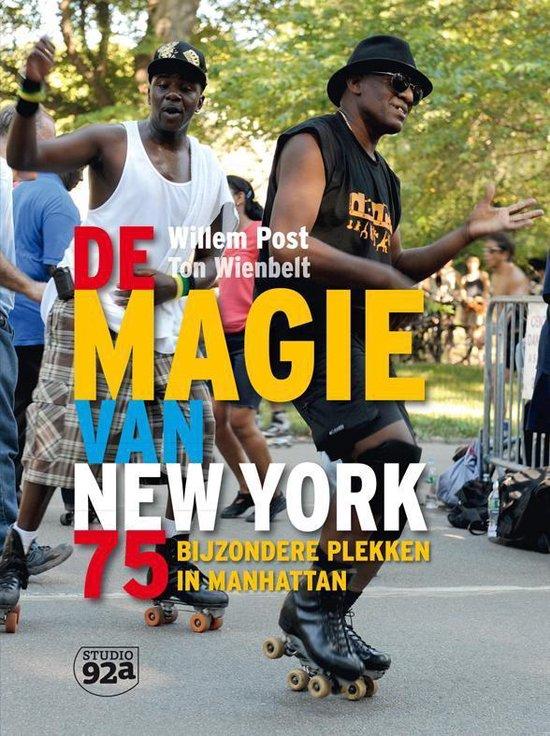 Cover van het boek 'De magie van New York' van Willem Post