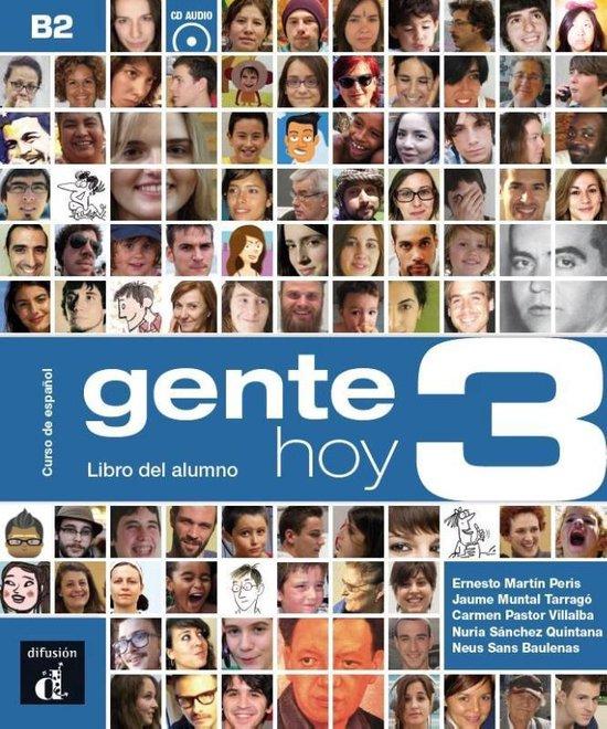 Gente Hoy 3 Libro del alumno + CD version original