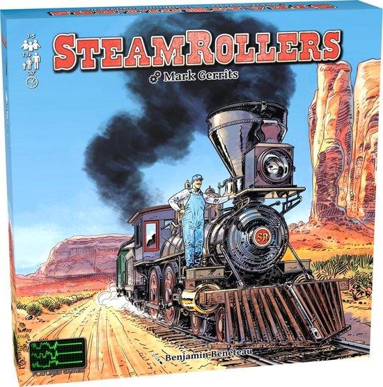 Afbeelding van het spel SteamRollers Bordspel (Engelstalig)