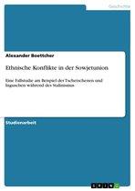 Boek cover Ethnische Konflikte in der Sowjetunion van Alexander Boettcher