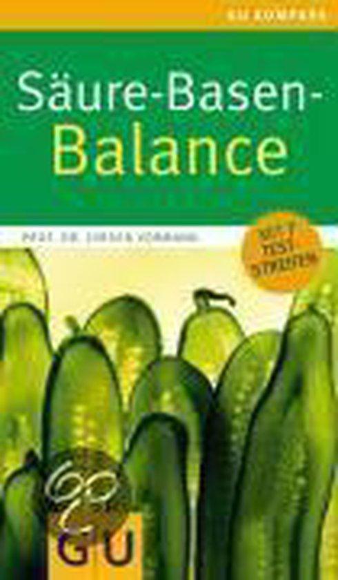 Boek cover Säure-Basen-Balance van Jurgen Vormann (Onbekend)