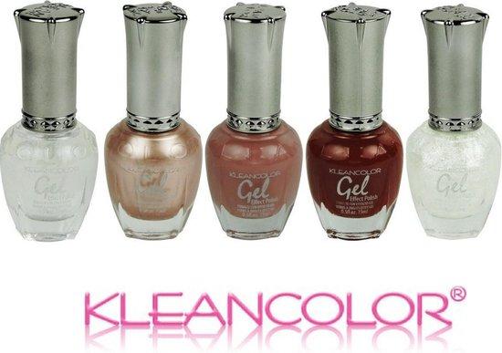 Kleancolor Gel Effect Nagellak, Shadows set, langdurig houdbaar, géén UV lamp nodig