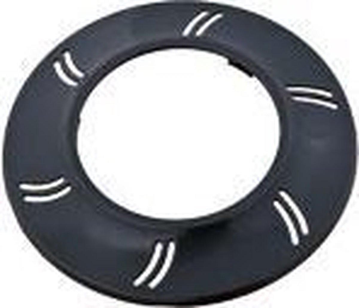 Aquaforte Zwarte front ring voor afdekking PLA100 lamp