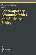 Boek cover Contemporary Economic Ethics and Business Ethics van Peter Koslowski