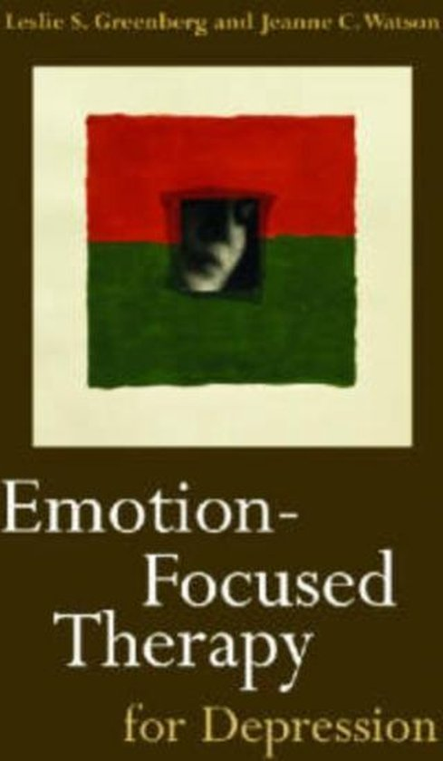 Boek cover Emotion-Focused Therapy for Depression van Leslie S. Greenberg (Hardcover)