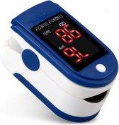 Zuurstof & Hartslagmeter - Fingertip Oximeter - Saturatiemeter