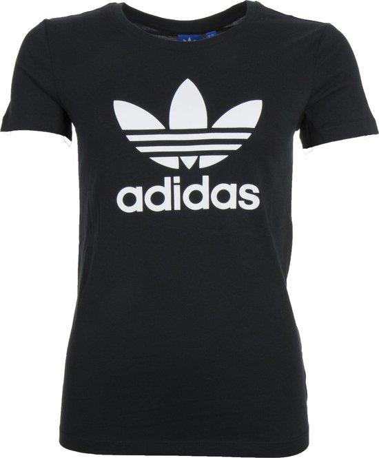bol.com   adidas Originals Trefoil T-shirt Dames Sportshirt ...