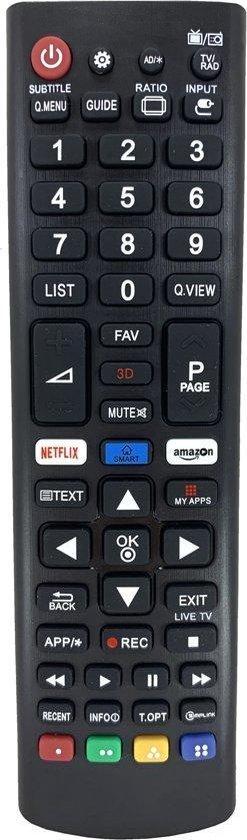 Universele afstandsbediening voor alle LG tv's