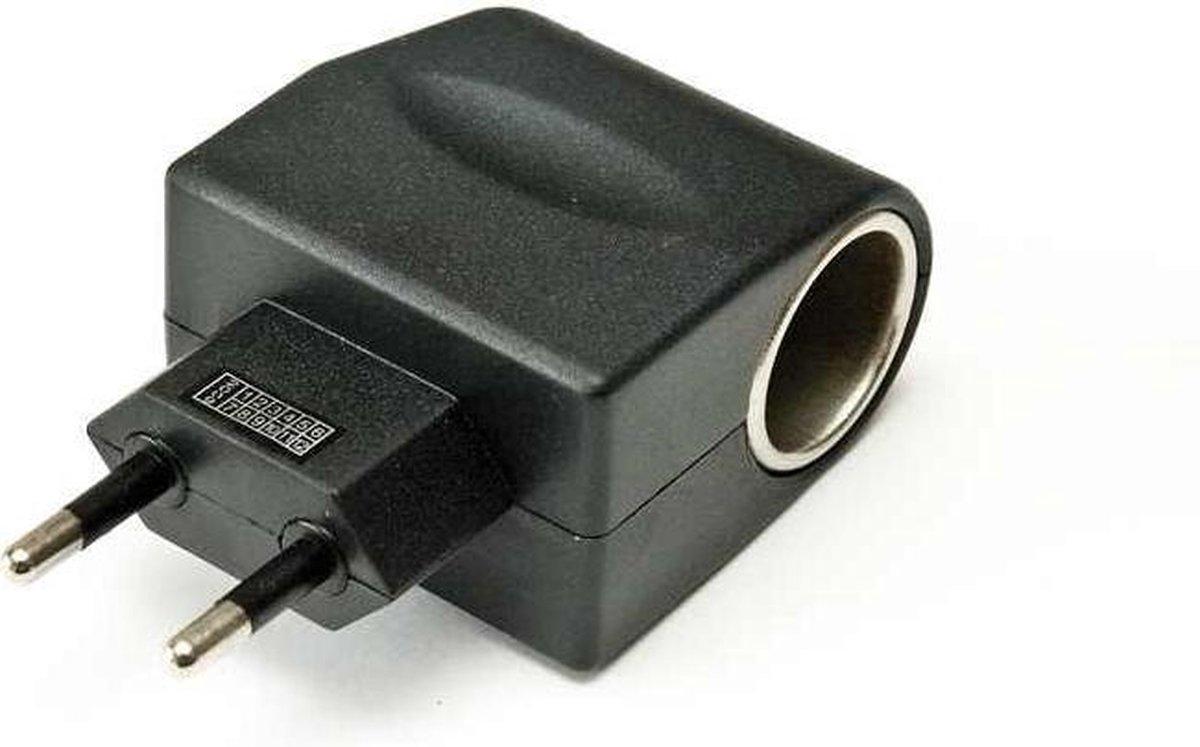 Adapter 230V naar 12V - Omvormer AC naar DC - Verloopstekker 220 volt - 12 volt - niet voor koelbox