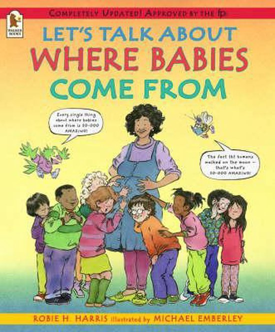 Boek cover Lets Talk About Where Babies Come From van Robie H. Harris (Paperback)