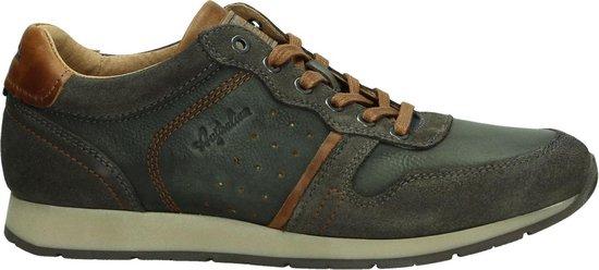 Australian - Hampton  - Casual schoen veter - Heren - Maat 39 - Grijs - D13 -Brown Tan