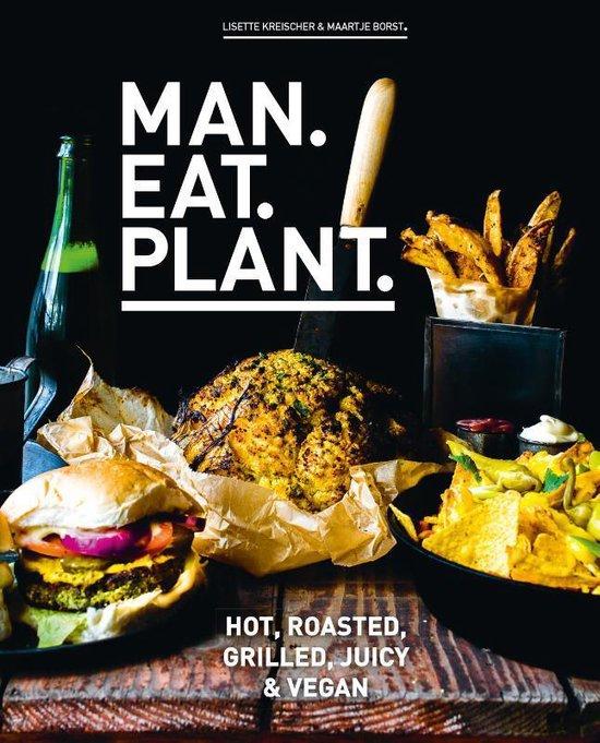 Boekomslag voor Man.Eat.Plant.