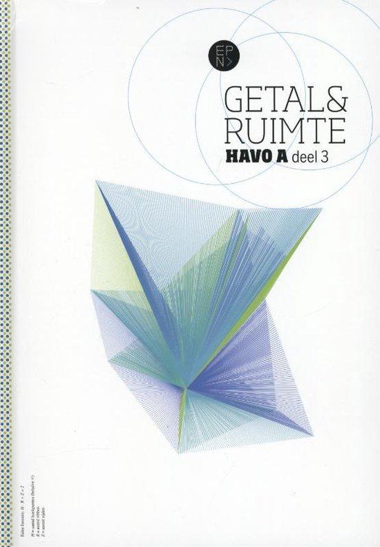 Getal en ruimte/ havo A deel 3 / deel leerboek - L.A. Reichard   Readingchampions.org.uk
