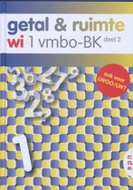 Boek cover Getal & Ruimte / 1 Vmbo-BK deel 2 van L.A. Reichard