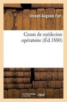 Cours de medecine operatoire