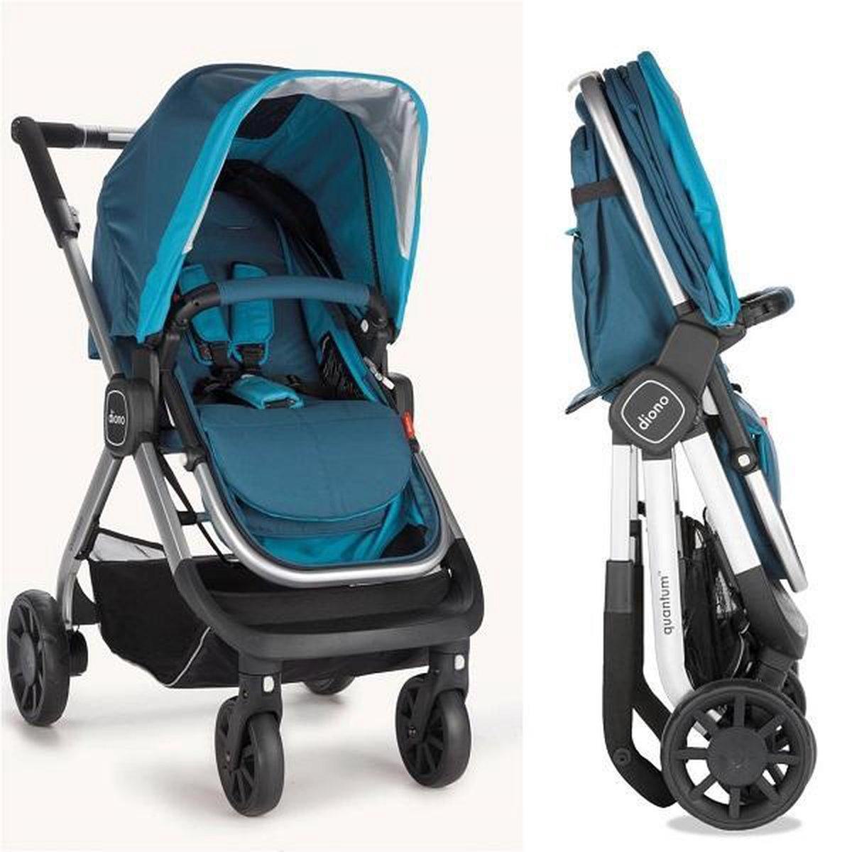 Bol Com Diono Quantum Combi Kinderwagen Voor Baby Tot Kleuter Max 22 Kg Aqua