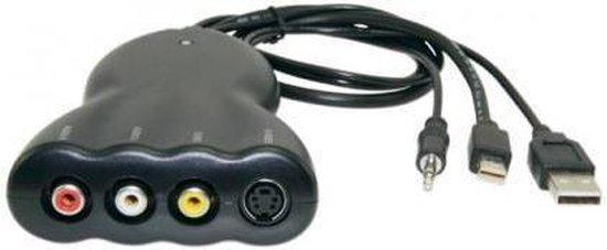Techtube Pro - Mini DisplayPort naar Composite en S-Video Omvormer