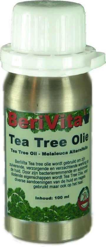 Tea Tree Olie 100% Puur 100ml - Etherische Olie