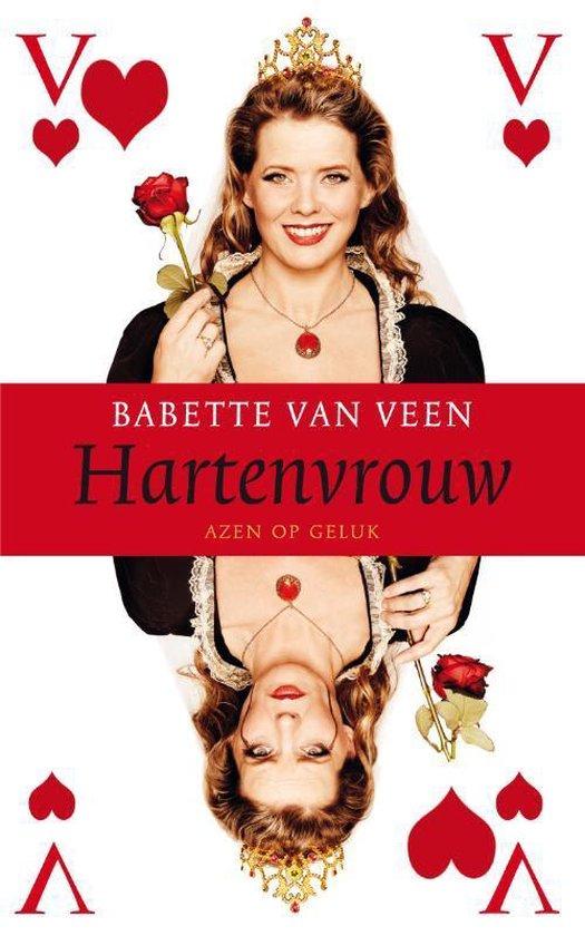 Cover van het boek 'Hartenvrouw'