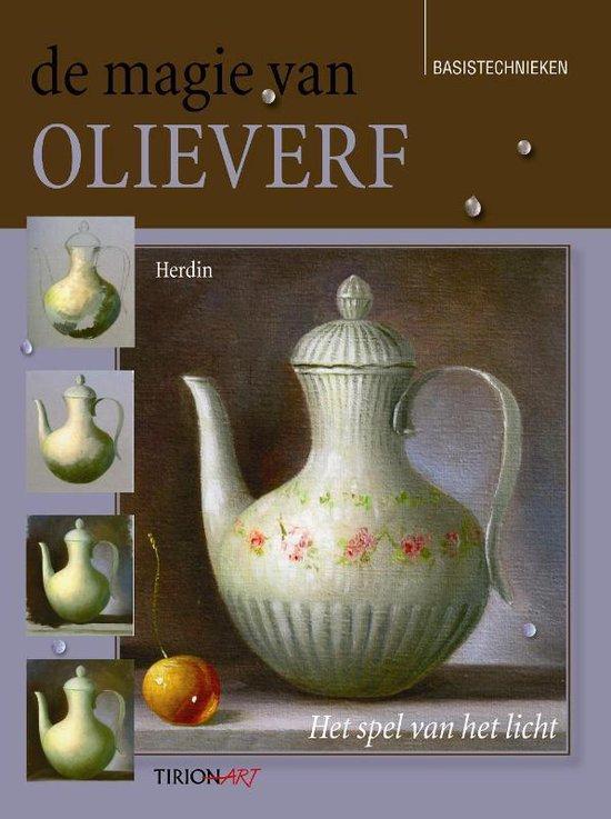 Cover van het boek 'De magie van olieverf' van  Herdin