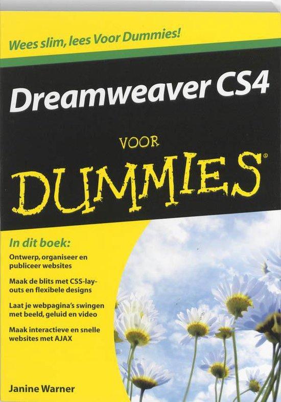 Voor Dummies - Dreamweaver CS4 voor Dummies - Janine Warner |
