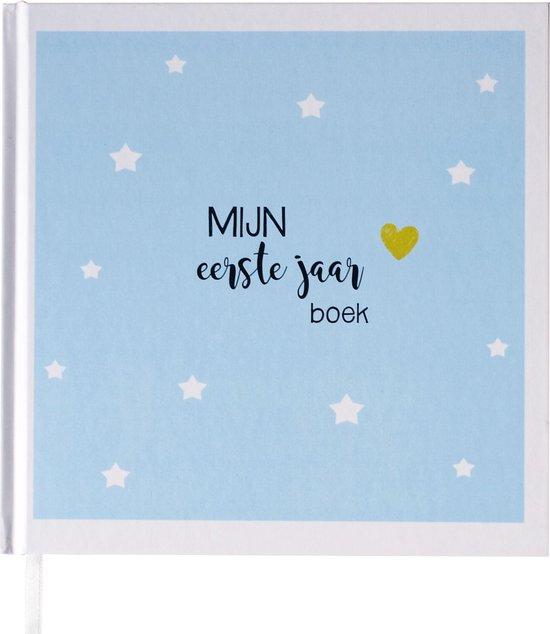 Ongekend bol.com | Babyboek eerste jaar blauw - Maan Amsterdam FS-36