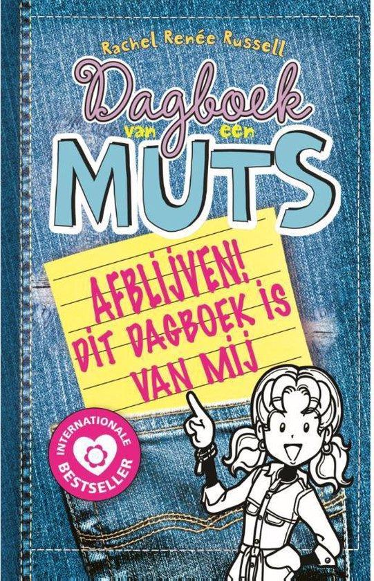 Boekomslag voor Dagboek van een muts 8,5 - Afblijven! Dit dagboek is van mij