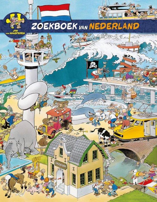 Jan van Haasteren zoekboek van Nederland - Jan van Haasteren |