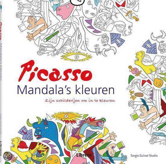 Picasso mandala's kleuren