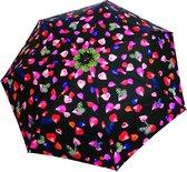 Smati Pétale Paraplu - Opvouwbaar - Ultra Bestendig - Opent en Sluit Automatisch - Zwart - Multikleur - Ø90cm