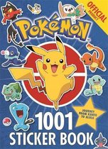 Boek cover The Official Pokemon 1001 Sticker Book van Pokémon