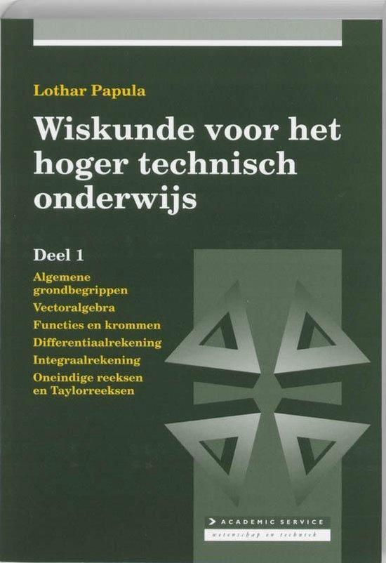 Wiskunde voor hoger technisch onderwijs 1 - Lothar Papula pdf epub