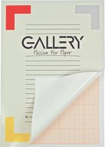 Gallery millimeterpapier formaat 21 x 297 cm (A4) blok van 50 vel