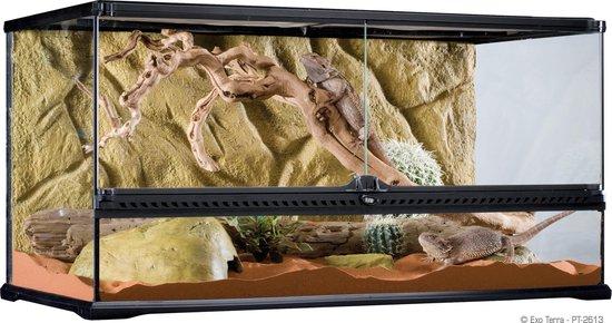 Exo Terra Terrarium Large - Zwart - 90 x 45 x 45cm
