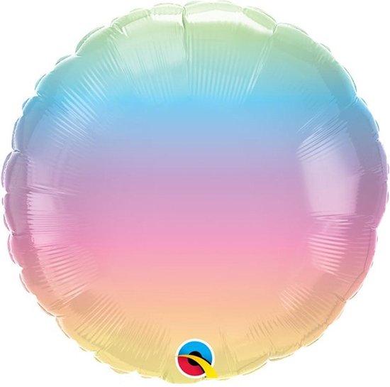 Folie ballon Ombre Pastel - 46 cm