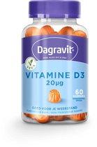 Dagravit Vitamine D3 20 mcg gummies - 60 stuks
