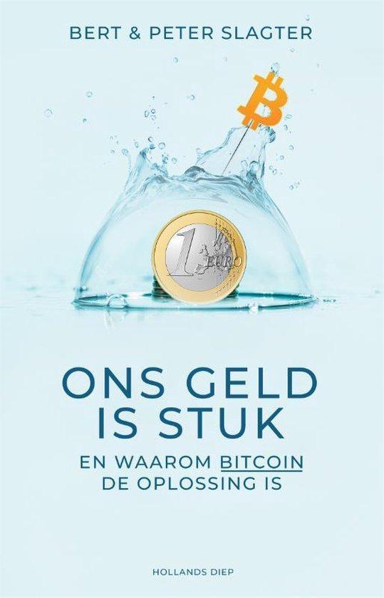 Boek cover Ons geld is stuk van Peter Slagter (Paperback)