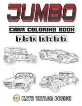 Jumbo cars coloring book for kids