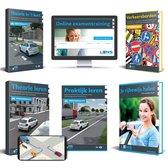 Rijbewijs B Theorieboek 2021 - Auto Theorie Pakket voor Theorie Leren Nederland met o.a. 50 online examens, Samenvatting en Praktijkboek - Lens Media