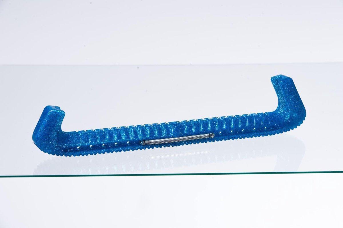 Guardog Schaatsbeschermer Uni Deluxe Blauw Glitter