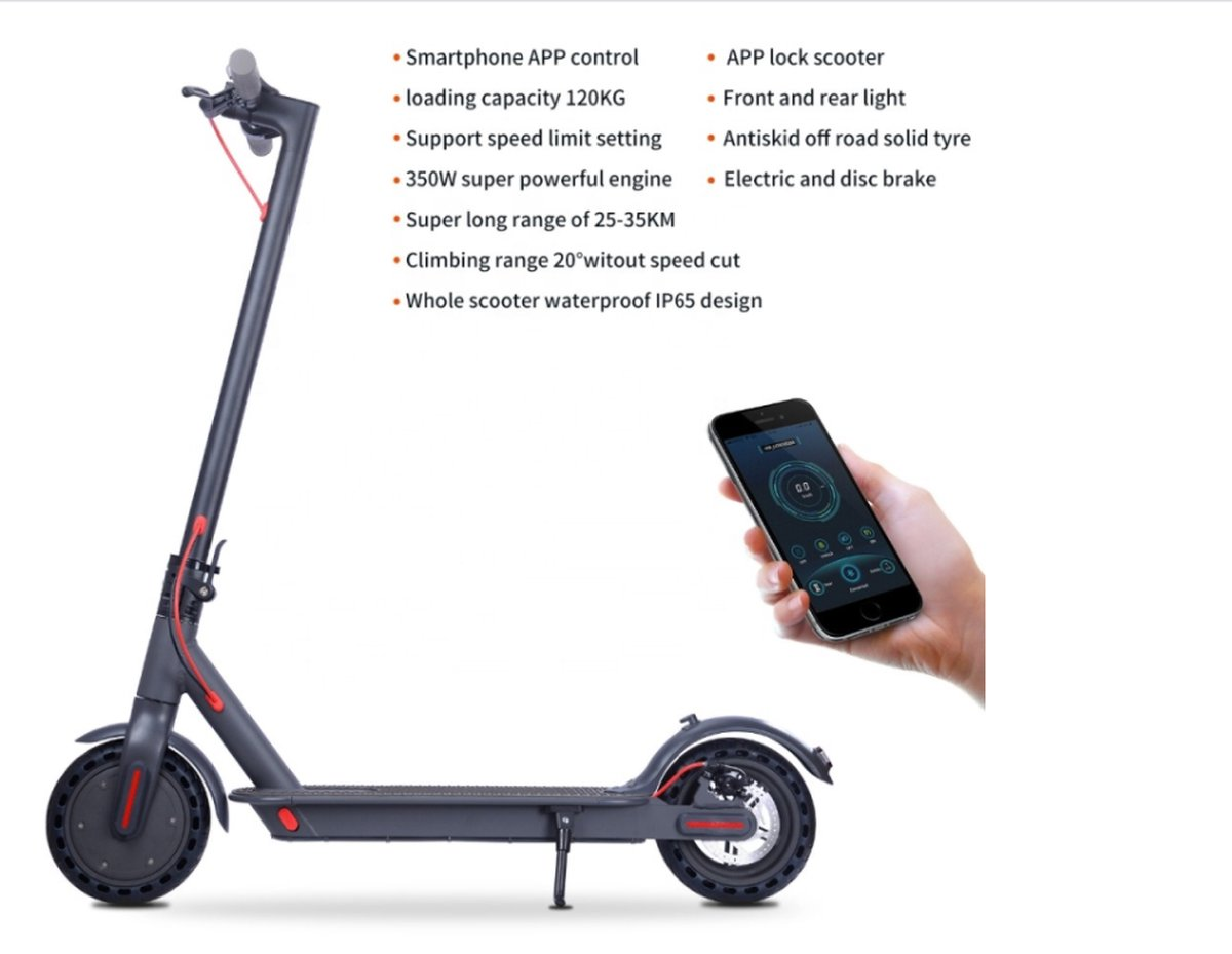 Qingmai H7 - Elektrische Step - Bluetooth - 25KM