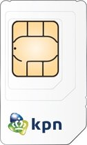 KPN 3-in-1 Prepaid Simkaart - Inclusief gratis 1GB internetbundel