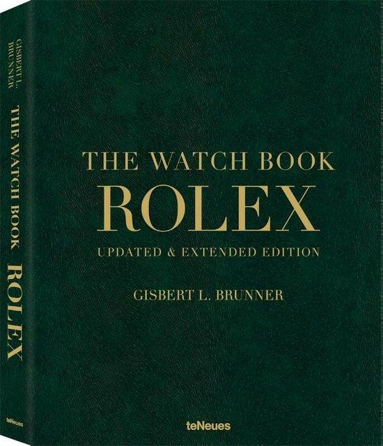 Boek cover The Watch Book Rolex van Gisbert L. Brunner (Hardcover)