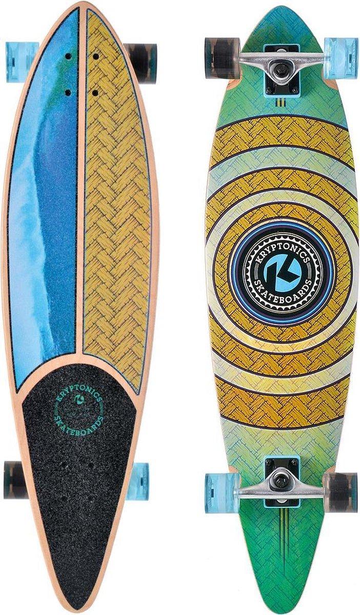 Kryptonics - Longboard - Pintail - Weaved - 37 Inch - Hout
